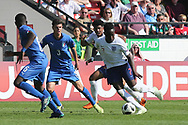 Arvin Appiah of England (7) during the UEFA European Under 17 Championship 2018 match between England and Italy at the Banks's Stadium, Walsall, England on 7 May 2018. Picture by Mick Haynes.