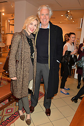 ALLEGRA HICKS and ROBERTO MOTTOLA d'AMATO at a party to celebrate the launch of Conran Italia at The Conran Shop, Michelin House, 81 Fulham Road, London on 19th March 2015.