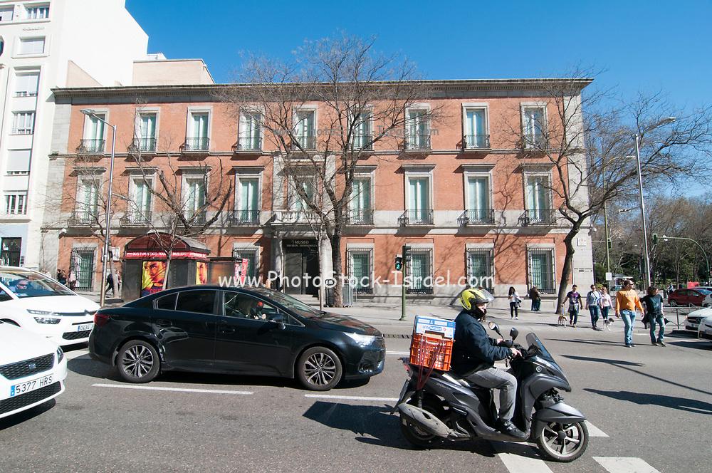 Exterior of the Thyssen-Bornemisza Museum, Madrid, Spain