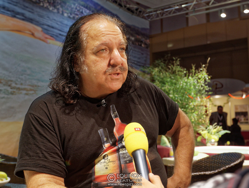 Berlin, Germany - 18 October 2012<br /> Porn star Ron Jeremy promoting his 'Ron Jeremy' brand of rum at the Venus Berlin 2012 adult industry exhibition in Berlin, Germany. Ron Jeremy, born Ronald Jeremy Hyatt, has been an American pornographic actor since 1979. He faces sexual assault allegations which he strenuously denies. There is no suggestion that any of the people in these pictures have made any such allegations.<br /> www.newspics.com/#!/contact<br /> (photo by: EQUINOXFEATURES.COM)<br /> Picture Data:<br /> Photographer: Equinox Features<br /> Copyright: ©2012 Equinox Licensing Ltd. +448700 780000<br /> Contact: Equinox Features<br /> Date Taken: 20121018<br /> Time Taken: 12151798