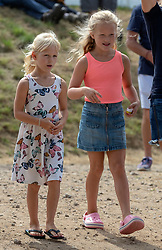 File photo dated 04/08/18 of Peter and Autumn Phillips' daughters Savannah and Isla (left), part of a gaggle of royal youngsters who will be waiting to welcome the Duke and Duchess of Sussex's baby to their gang.