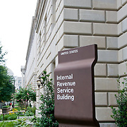 Internal Revenue Service (IRS) building on Pennsylvania Avenue, Washington DC