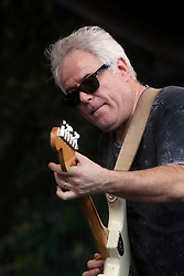 05 May 2012. New Orleans, Louisiana,  USA. .New Orleans Jazz and Heritage Festival. .Brian Stoltz of the Funky Meters..Photo; Charlie Varley.