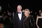 Sir Jocelyn Stevens and Dame Vivien Duffield. Dinner to unveil the Van Cleef & Arpels jewellery collection 'Couture' with fashion by Anouska Hempel Couture. The Banqueting House, Whitehall Palace, London on 8th March 2005.ONE TIME USE ONLY - DO NOT ARCHIVE  © Copyright Photograph by Dafydd Jones 66 Stockwell Park Rd. London SW9 0DA Tel 020 7733 0108 www.dafjones.com