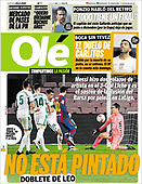 February 25, 2021 (LATIN AMERICA): Front-page: Today's Newspapers In Latin America