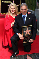 3/1/2011 Zubin Mehta and his wife at his Hollywood Walk of Fame ceremony