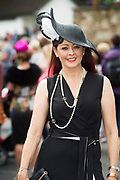 17/08/2017 Mandy Maher Catwalk Models who judged the Best Dressed competitions  at the Connemara Pony Show in Clifden. Photo:Andrew Downes, xposure