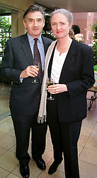 The HON.ARTEMIS COOPER,  daughter of Viscount<br />  Norwich and her husband MR ANTONY BEEVOR at<br />  a party in London on 18th May 2000.OEI 18
