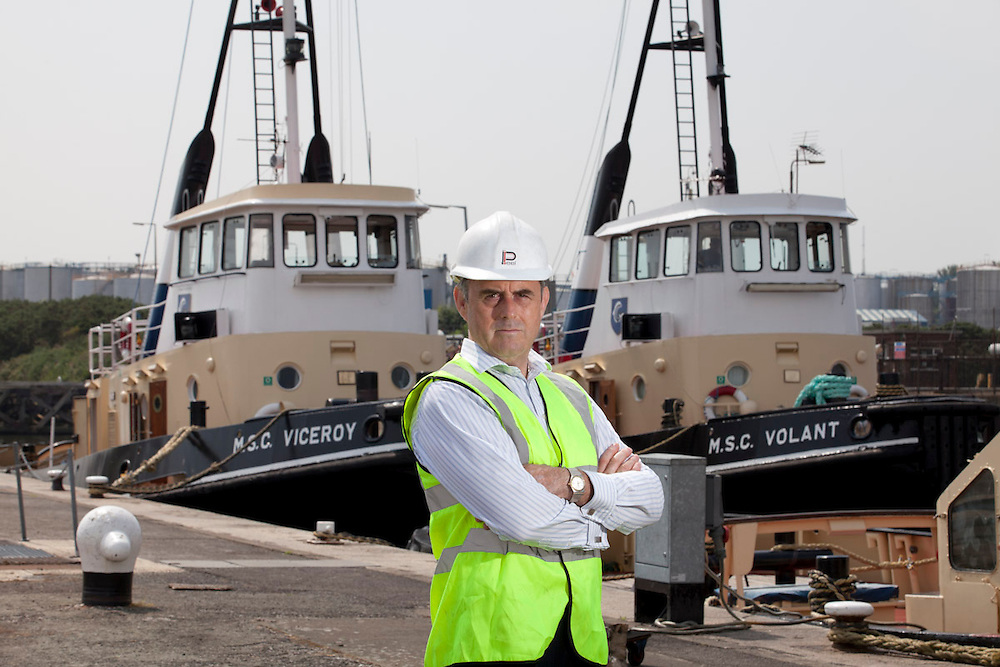 July 2013 - David Glover a Director of Peel Holdings at the Birkenhead end of the Manchester Ship Canal