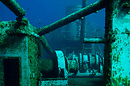 Main deck, stern, USS Kittwake