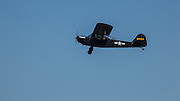Taylorcraft L-2 from WAAAM flying at Warbirds Over the West.