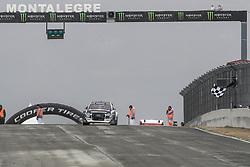 April 29, 2018 - Montalegre, Vila Real, Portugal - Andreas BAKKERUD (NOR)in Audi Sl of EKS Audi Sport in action during the World RX of Portugal 2018, at Montalegre International Circuit, on April 29, 2018 in Montalegre, Portugal. (Credit Image: © Dpi/NurPhoto via ZUMA Press)