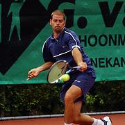 Finale eredivisie playoffs 2004 tennis Hilverheide - De Manege, Salvador Navarro