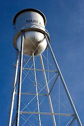 Water tower, Marfa, Texas.