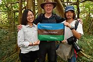 Kuan-Ju Chen, Staffan Widstrand and David Lin, Bayan garden protected forest, Kenting National Park, Taiwan