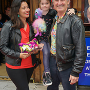 London, England, UK. 27th July 2017. Garry McQuinn,Rina Gill attends the opening day The Hunting of the Snark at Vaudeville Theatre, The Strand.