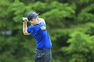 Luke Harrison (Co. Sligo) during the Connacht U14 Boys Amateur Open, Ballinasloe Golf Club, Ballinasloe, Galway,  Ireland. 10/07/2019<br /> Picture: Golffile   Fran Caffrey<br /> <br /> <br /> All photo usage must carry mandatory copyright credit (© Golffile   Fran Caffrey)