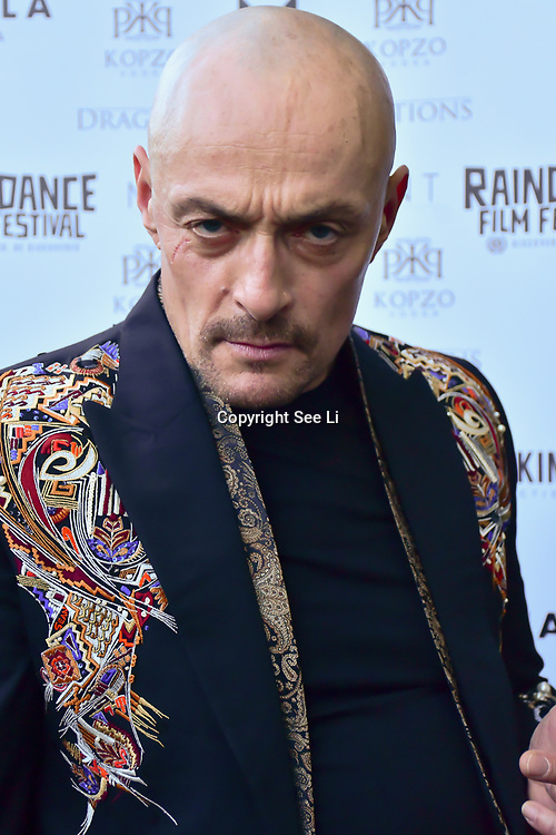 """Sean Cronin is an actor attends The Third Annual Integrity Awards by Dragon Lady Productions and The Peace Project 21st """"The Alternative Fashion Integrity Awards 2019 & Film Networking Soirée"""" on 21 September 2019, Fire Club Vauxhall, London, UK."""