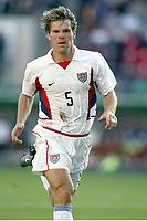 FOTBALL - CONFEDERATIONS CUP 2003 - GROUP B - TYRKIA v USA - 030619 - GREG VANNEY (USA) - PHOTO STEPHANE MANTEY / DIGITALSPORT
