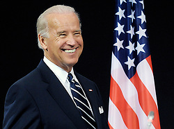 U.S. Vice President Joseph Biden, arrives for a news conference following a meeting with the ambassadors representing the 26 members of the North Atlantic Treaty Organization, at NATO headquarters in Brussels, Tuesday, March, 10, 2009. (Photo © Jock Fistick)