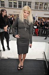 PIXIE GELDOF at a reception hosted by Vogue and Burberry to celebrate the launch of Fashions Night Out - held at Burberry, 21-23 Bond Street, London on 10th September 2009.