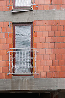 Building under construction in Kazimierz in Krakow Poland