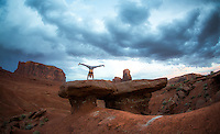 Abby Chan at Monument Valley, Arizona