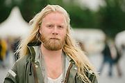 Portraits of Högni Egilsson at Secret Solstice Music Festival 2014 in Reykjavík, Iceland. June 20, 2014. Copyright © 2014 Matthew Eisman. All Rights Reserved