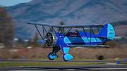 1932 Waco UBF-5 landing at WAAAM.