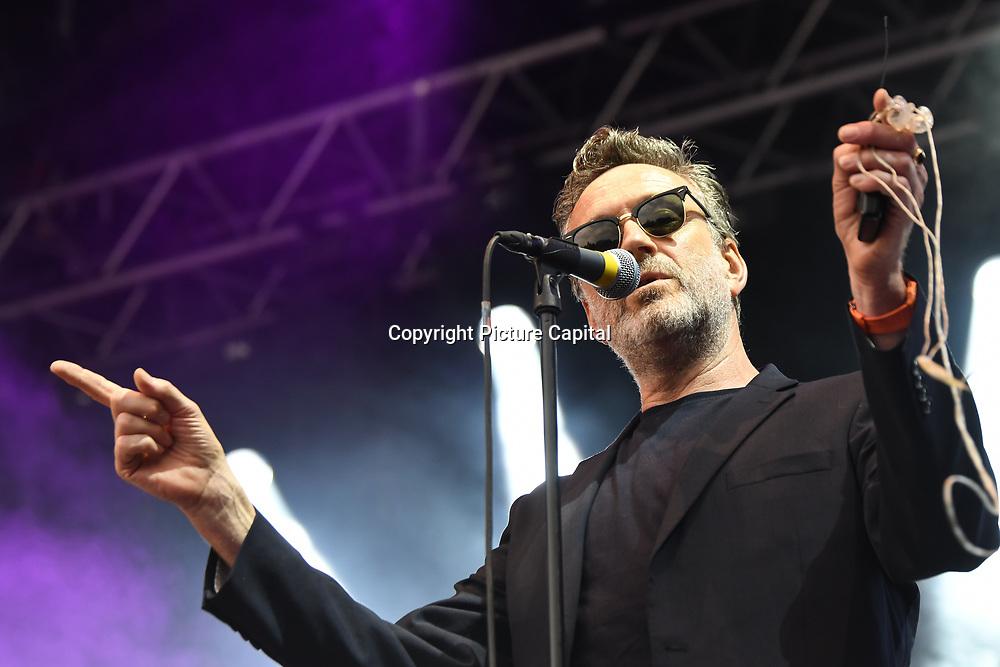 BLANCMANGE perform live at Kew The Music Festival 2018 on 13 July 2018, London, UK.