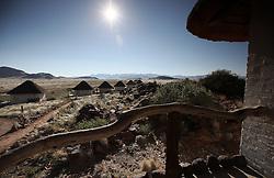 NAMIBIA NAUKLUFT 19APR14 - Bar & pool area at the Desert Homestead Lodge, Naukluft National Park, Namibia.<br /> <br /> <br /> <br /> jre/Photo by Jiri Rezac<br /> <br /> <br /> <br /> © Jiri Rezac 2014