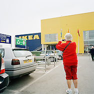 The Norwegian Club on bus tour to IKEA Murcia, Spain.<br /> Photo by Knut Egil Wang/Moment/INSTITUTE