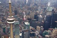 Aerial View, CN Tower, Toronto