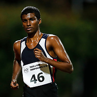 Manoj Mani of Nanyang Polytechnic in action during the men's 10000m event. (Photo © Lim Yong Teck/Red Sports) The 2018 Institute-Varsity-Polytechnic Track and Field Championships were held over three days in January.<br /> <br /> Story: https://www.redsports.sg/2018/01/15/ivp-day-one/<br /> <br /> Story: https://www.redsports.sg/2018/01/18/ivp-day-two/<br /> <br /> Story: https://www.redsports.sg/2018/01/23/ivp-day-three/
