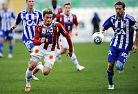 Fotball , 28. januar 2011, Copa del Sol , <br /> Tromsø - IFK Göteborg<br /> Steffen Nystrøm , TIL<br /> Adam Johansson  , IFK