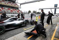 March 1, 2018 - Barcelona, Spain - Motorsports: FIA Formula One World Championship 2018, Test in Barcelona, #44 Lewis Hamilton (GBR, Mercedes AMG Petronas F1 Team) (Credit Image: © Hoch Zwei via ZUMA Wire)