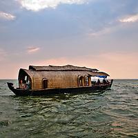 Kerala Backwaters, India Travel Stock Photography