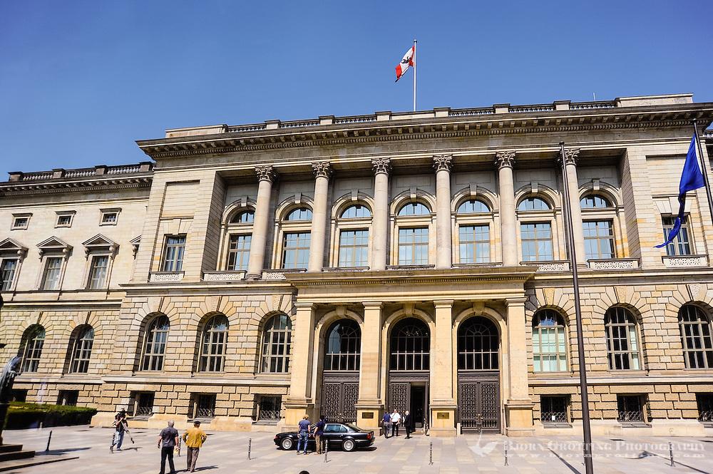 Niederkirchnerstraße, Preußisches und Berliner Abgeordnetenhaus. The state parliament (Landtag) for the state of Berlin.