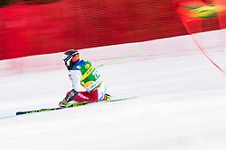 Sette Daniele (SUI) during the Audi FIS Alpine Ski World Cup Men's Giant Slalom at 60th Vitranc Cup 2021 on March 13, 2021 in Podkoren, Kranjska Gora, Slovenia Photo by Grega Valancic / Sportida