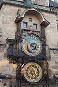 Astrological clock, old town square; Prague, Czech Republic.