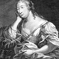 Marie Madeleine Pioche de Lavergne (1634-1693) Comtesse de La Fayette  , femme de lettres francaise qui tint un salon litteraire, elle fut aussi la confidente d'Henrietted'Angleterre  --- countess of La Fayette, french woman of letters who held a literary salon, she was also the confident of HenrietteOfEngland<br /> <br /> Copyright Rue Des Archives/Writer Pictures<br /> <br /> NO FRANCE, NO AGENCY SALES