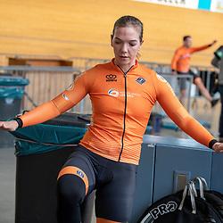 19-02-2020: Wielrennen: persmoment KNWU: Alkmaar<br />Shanne Braspennincx