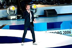 06-08-2006 ATLETIEK: EUROPEES KAMPIOENSSCHAP: GOTHENBORG <br /> De openingsceremonie van de 29th European Championships Athletics werd op de Gotaplatsen gehouden / Peter Joback<br /> ©2006-WWW.FOTOHOOGENDOORN.NL