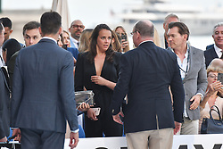 Pauline Ducruet attends Amber Lounge UNITE 2018 in aid of Sir Jackie Stewart's foundation 'Race Against Dementia' at Le Meridien Hotel on May 25, 2018 in Monte-Carlo, Monaco. Photo by Laurent Zabulon/ABACAPRESS.COM