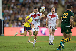 December 2, 2017 - Brisbane, Australie - Luke Gale of England during the Rugby League World Cup Men s Final match between Australia and England at Brisbane Stadium, Brisbane, Australia on 2 December 2017 (Credit Image: © Panoramic via ZUMA Press)