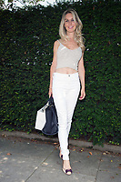 Leila Russack out and about in London