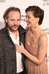 2019 National Board Of Review Gala at Cipriani 42nd Street on January 08, 2019 in New York City. 08 Jan 2019 Pictured: Maggie Gyllenhaal and Peter Sarsgaard. Photo credit: WMB/MPI/Capital Pictures / MEGA TheMegaAgency.com +1 888 505 6342
