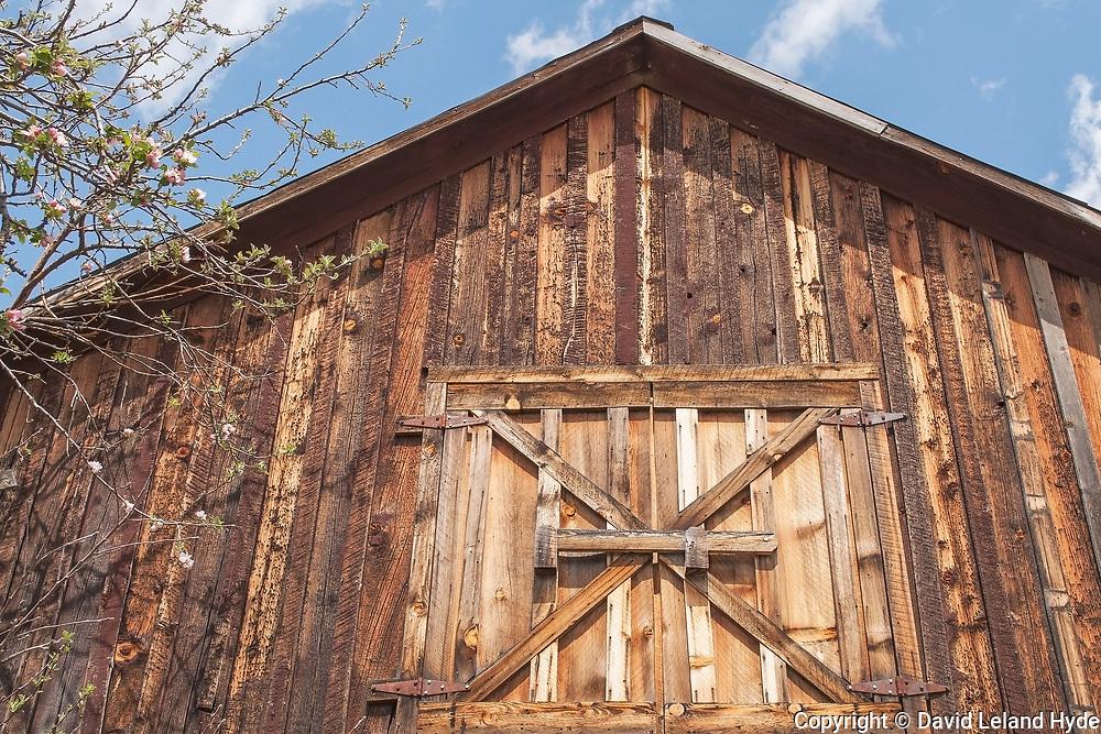 Buggy Barn Detail, Genesee, Genesee Valley Ranch, California Mountains, Hay Loft, Spring Flowers, Sierra Nevada Mountains