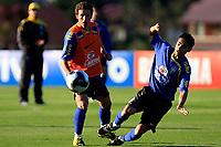 20090604: TERESOPOLIS, BRAZIL - Brazil National Team preparing match against Uruguay. In picture: Elano and Josue. PHOTO: CITYFILES