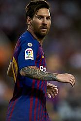 October 7, 2018 - Valencia, Valencia, Spain - Lionel Messi during the week 8 of La Liga match between Valencia CF and FC Barcelona at Mestalla Stadium in Valencia, Spain on October 7, 2018. (Credit Image: © Jose Breton/NurPhoto/ZUMA Press)